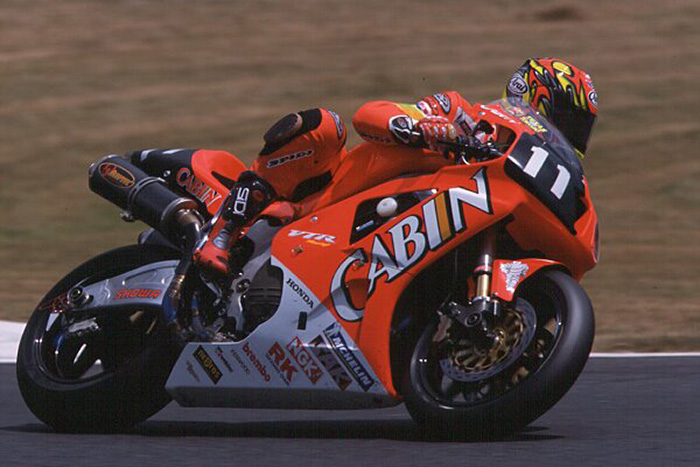 colin edwards honda vtr1000 sp1 cabin