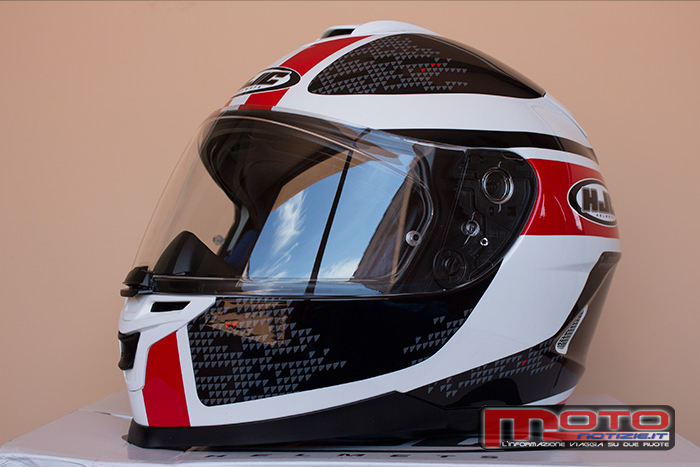 casco integrale hjc is 17 paru mc1 003