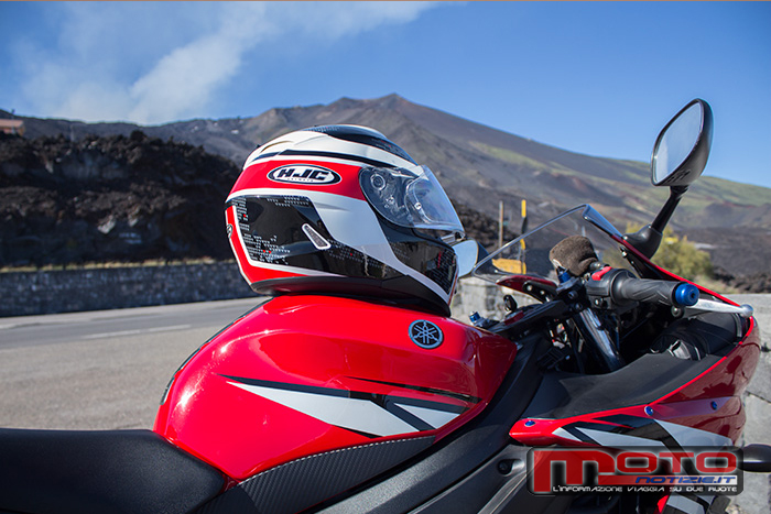 test prova casco integrale hjc is 17 paru mc1 001